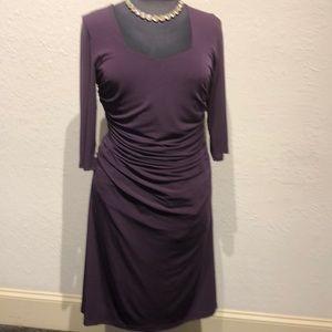 Eggplant Colored Dress
